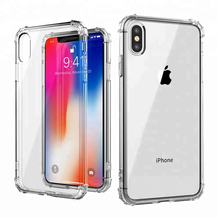 Guangzhou Manufacturing Transparent Shockproof TPU Phone Accessories Case Blank Phone Cover for 2018 New Iphone Xs  Xs Plus Xr