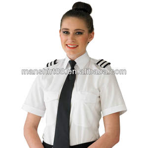 Ladies'pilot hemd Ladies'pilot blusen Ladies'pilot uniform
