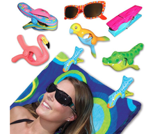 Promotion Plastic Animal shape  boca beach towel clips for chair