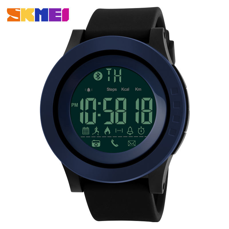 Outdoor elite multifunctional smart watch 2017 skmei 1255 smart sport watch nice brands for men