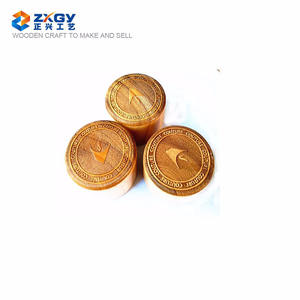 wooden lids for perfume Laser cutting pattern Hollow out design