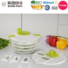D650-A Low Price Multi function food processor vegetable salad chopper spinner kitchen accessory salad washing machine