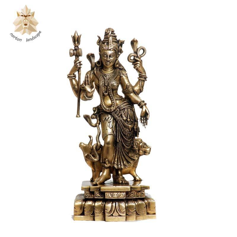 Yizzam TShirt Temple Deity India Hindu Mens Long Sleeve