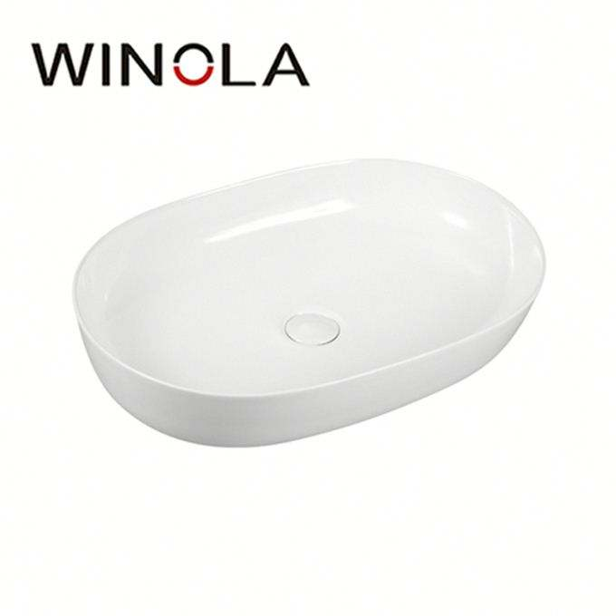 Factory high quality wall hung bathroom sinks ceramic basin