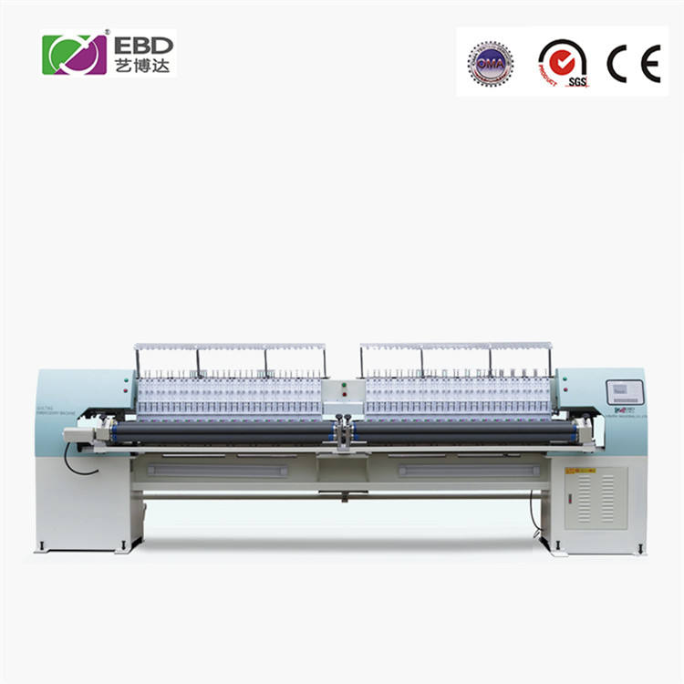 YBD164 sectionalized automatic quilting embroidery machine with Thread broken Alarm