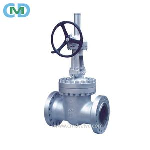 Stainless Steel 316 10 inch Gear Box Flanged RF Gate Valve