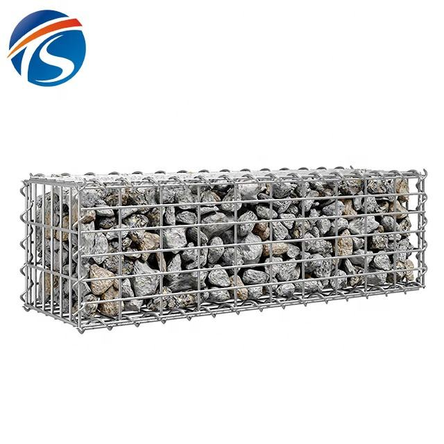 Factory sale gabion fence decorative wire mesh boxes