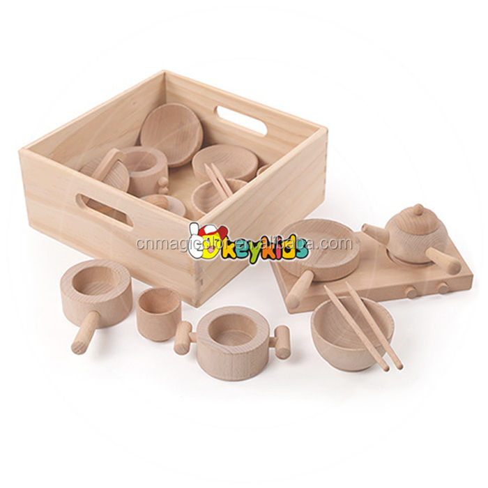 2017 wholesale new design wooden role play toys children natural wooden role play toys funny kid wooden role play toys W10B178