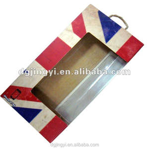 hot sell kraft paper box with window /iphone packaging box wholesale