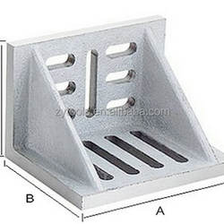 Webbed Machined casting slotted angle plate