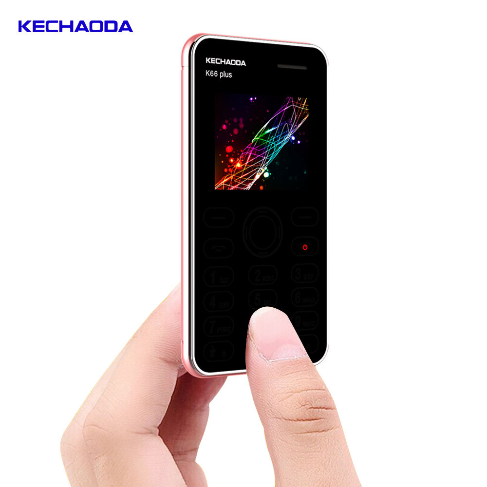 KECHAODA K66 Plus 2G Dual SIM Card 1.8インチMini Card Phone