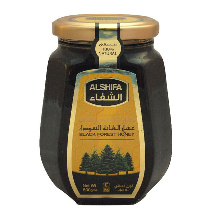 500ml Al Shifa Black Forest Honey Jars for Sale