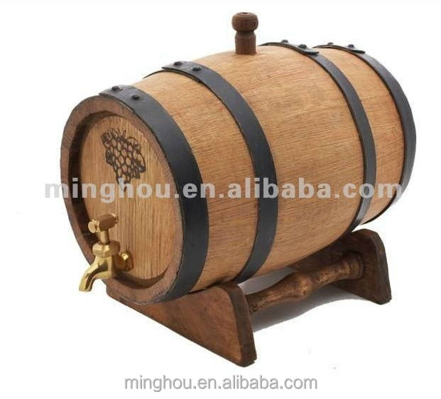Minghou oak wine barrels1.5L port barrel