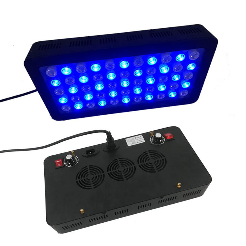 165W Full Spectrum LED Aquarium Grow Light for Coral Reef Freshwater and Saltwater Grow Fish Tank