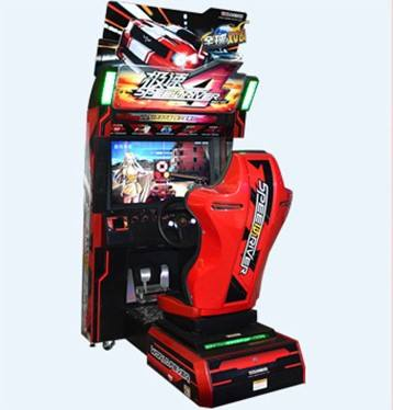 Whosale Speed driver 4 Car Racing Video Game Simulator Game Machine For Sale