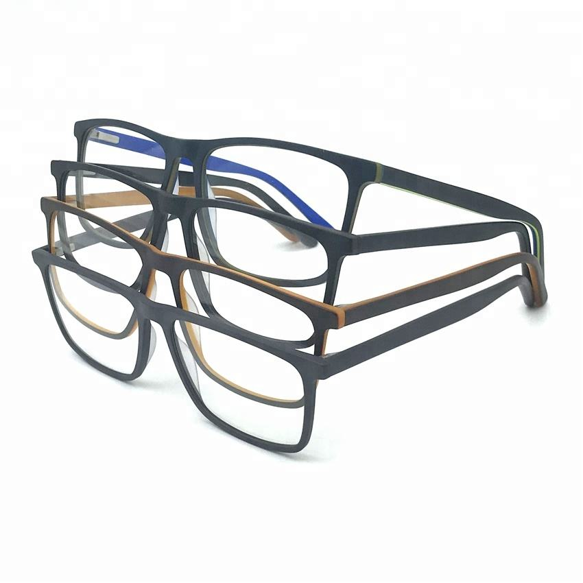 High quality classic design simple acetate optical frame eye glasses