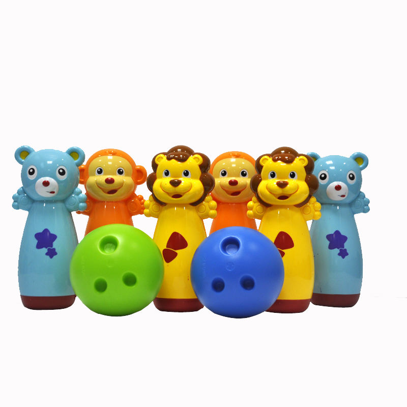 Creative kids bowling ball play game set for Children