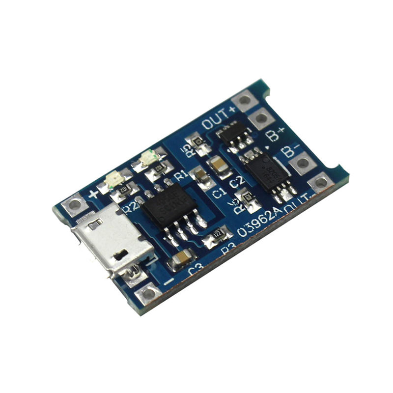 TP4056 1A Micro Usb 18650 Lithium Battery Charging Protect Board Charger module