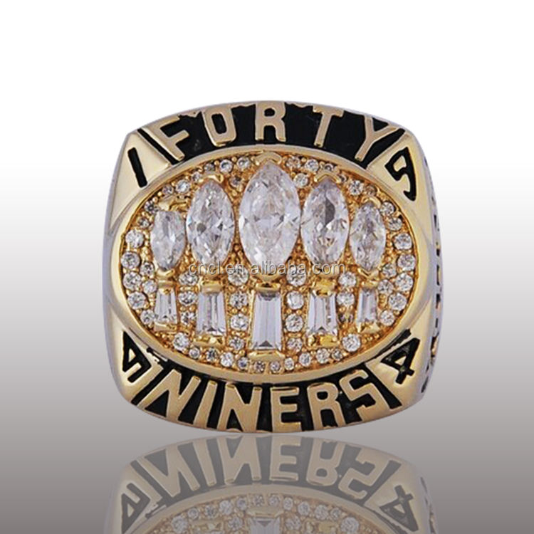 San Francisco 49ers Custom college class championship ring College sports classic ring