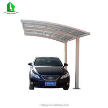 polycarbonate solid transparent car parking shelters