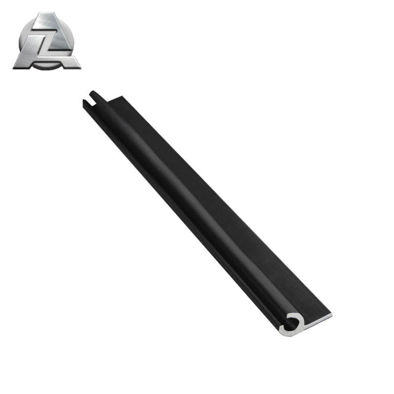 aluminum profile extruded aluminum keder single rail for pool covers