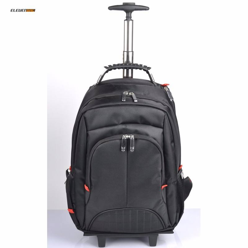 Multi-use Executive swiss gear Rolling Wheeled Trolley laptop backpack