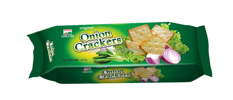 Onion Crackers 200g*24 Manufacture