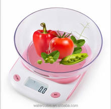 Colorful New 5kg/0.1g Kitchen Scales Digital Balances LCD Electronic Scales Food Electronic Balance Measuring Weight Libra