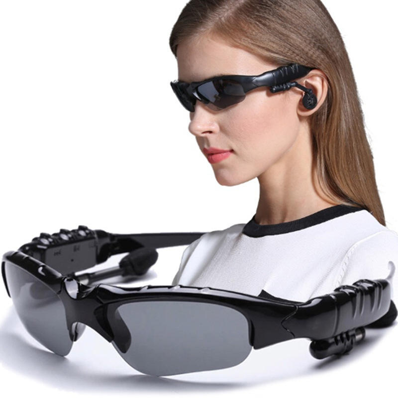 Outdoor Waterproof MP3 sun glasses, Rotation Adjustable Freely Wireless Headset Sport Sunglasses