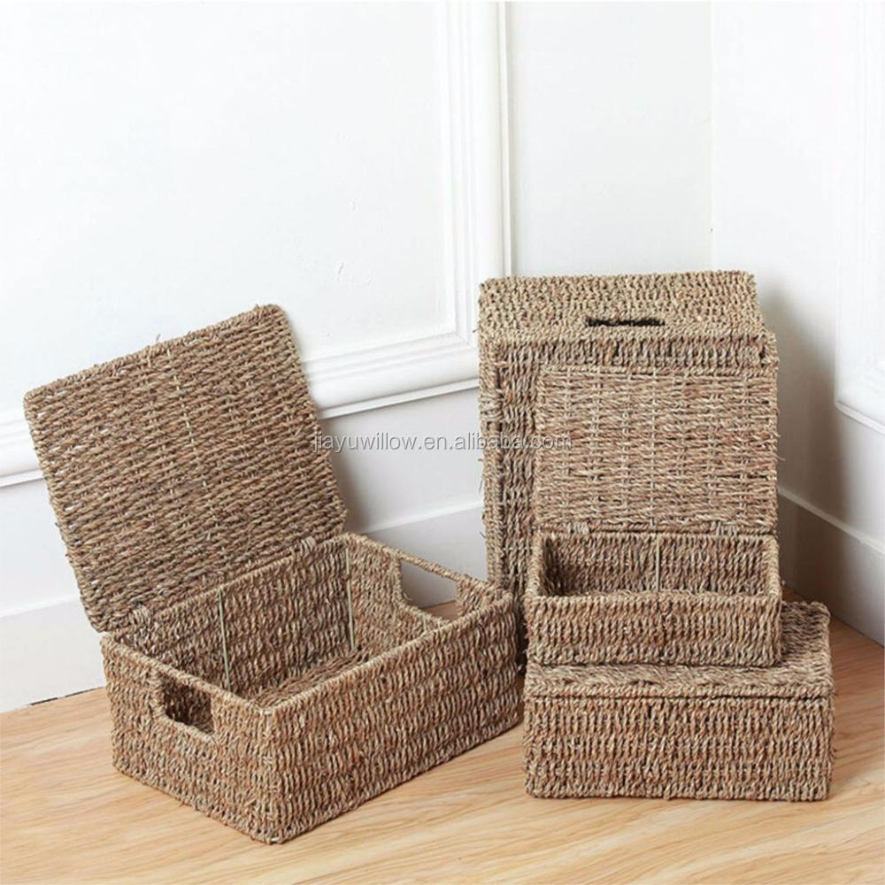 Candy Brown Alibaba Dome Top Linen Bin//Basket