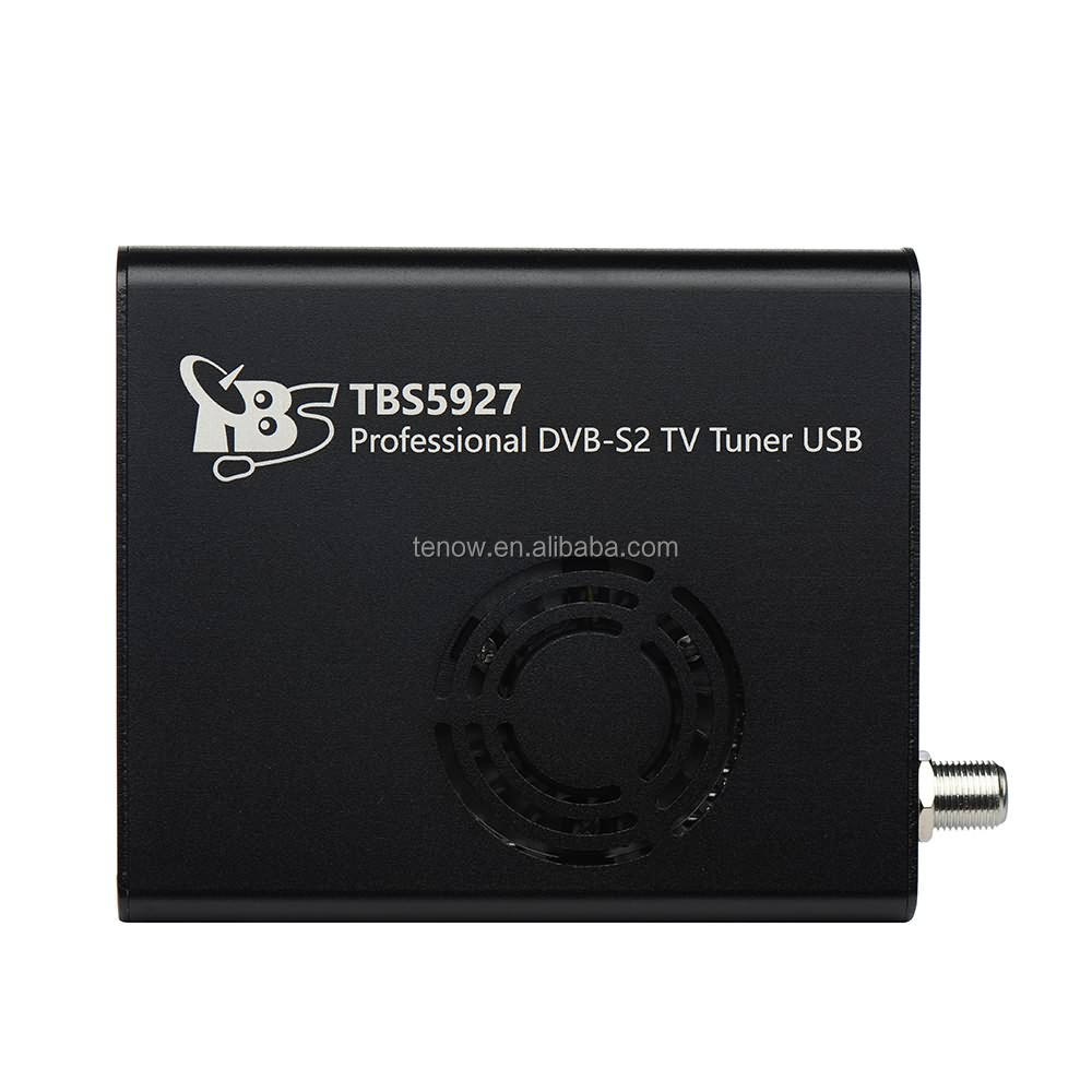 Digitale HD Satellietontvanger TBS5927 Professionele DVB-S2 TV Tuner USB Box voor PC