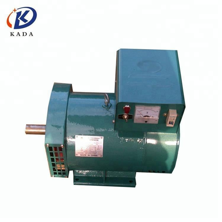 KADA ac alternator 220 volt dynamo 3kw 220 volt alternator other powers 5kw 8kw 10kw 12kw 15kw 20kw 24kw