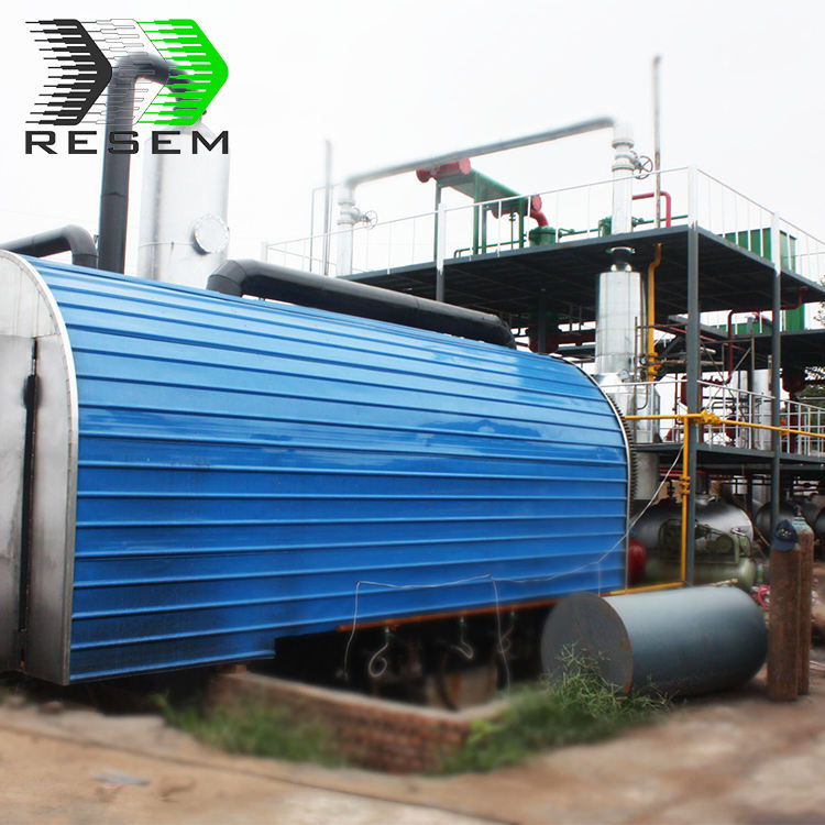 Good condenser system pyrolysis waste management machinery