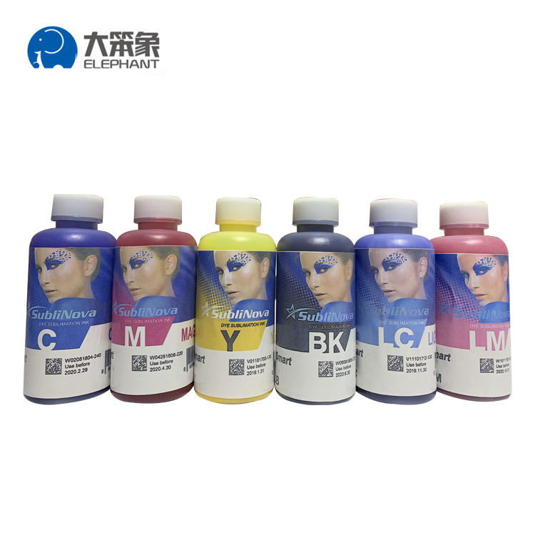 Wholesale 100ml Korea Inktec sublinova sublimation dye ink for A3/A4 inkjet printer
