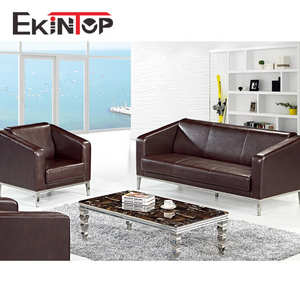 Ekintop china 독일 latest 현대 metal 4 seater designs 왕 가구 executive office 리셉션 sofa set