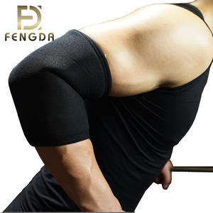 Fitness use neoprene compression elbow sleeve for protecting injure