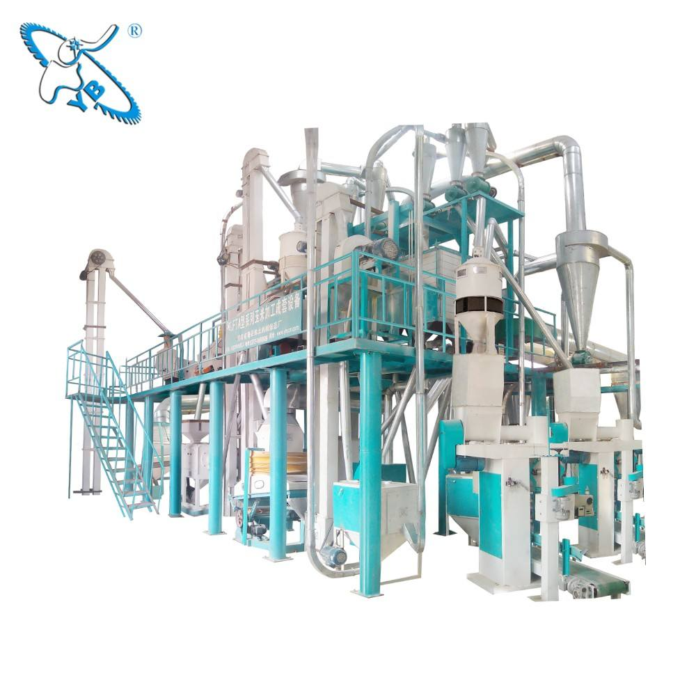 Wholesale Machinery Maize Processing Plant