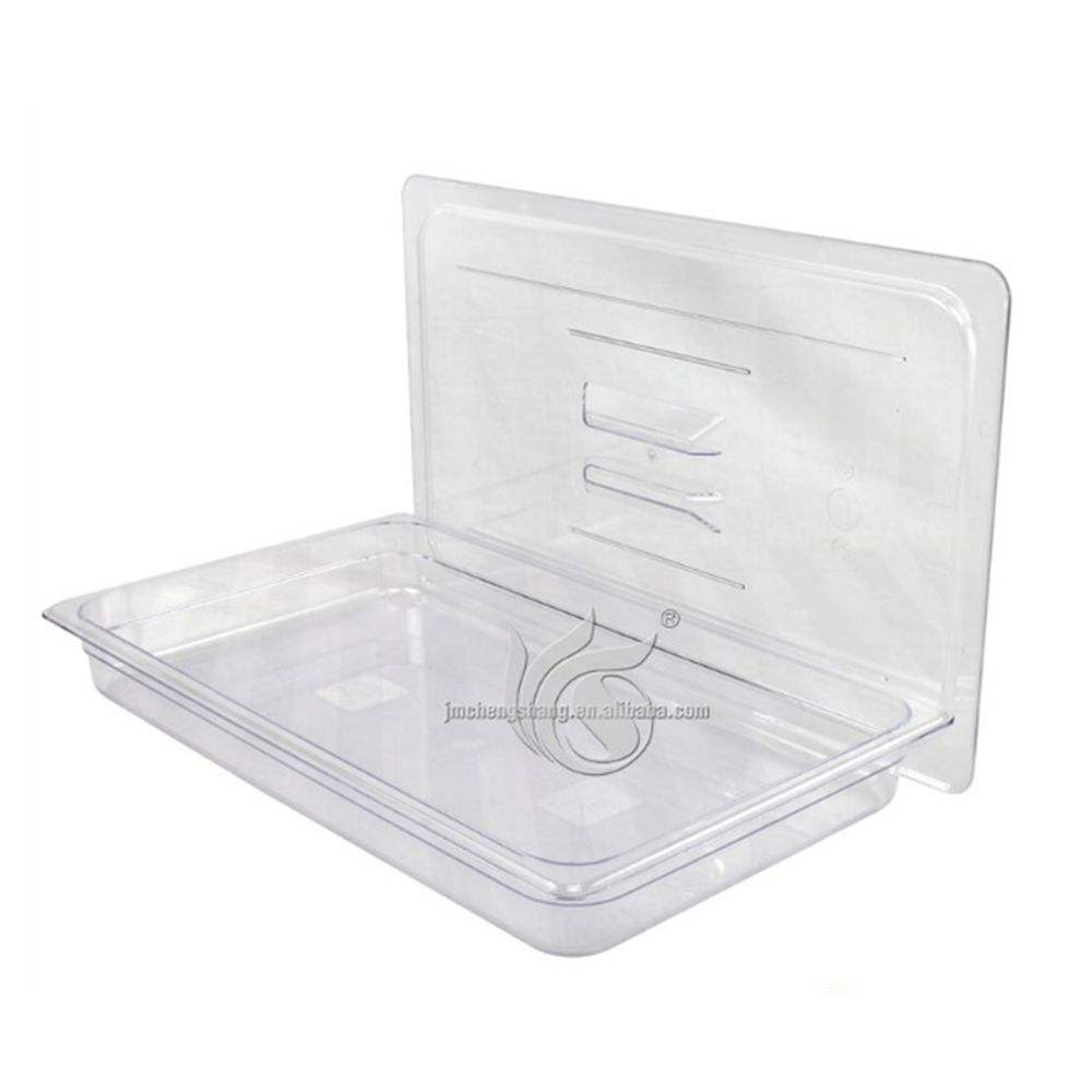 High Quality Clear Plastic Buffet Food GN Pan Container