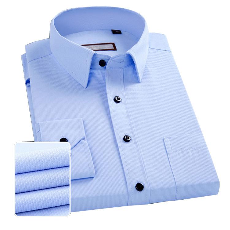 ColourfulMen Plaid Lapel Long Sleeves Dress Shirts