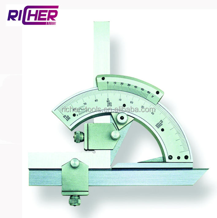 Stainless Steel Universal Bevel Protractor 0-320 Degree