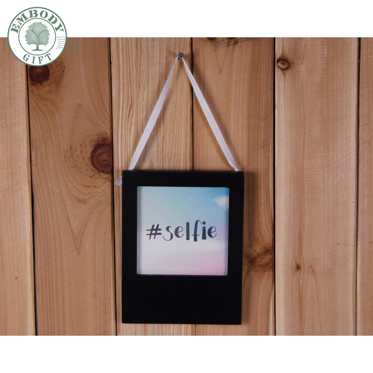 Puerta decoración colgante rectangle forma decoración para el hogar