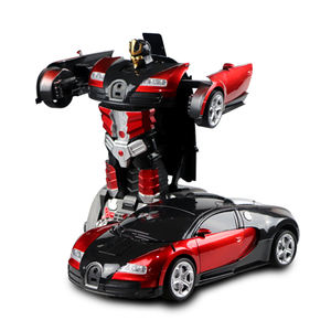 Cool design 2.4G gesture induction children remote control transform Deformation robot toy car,rc remote control car toys