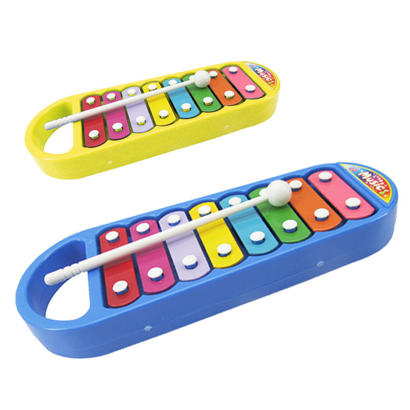 Kids colorful plastic musical instrument lovely xylophone music toy