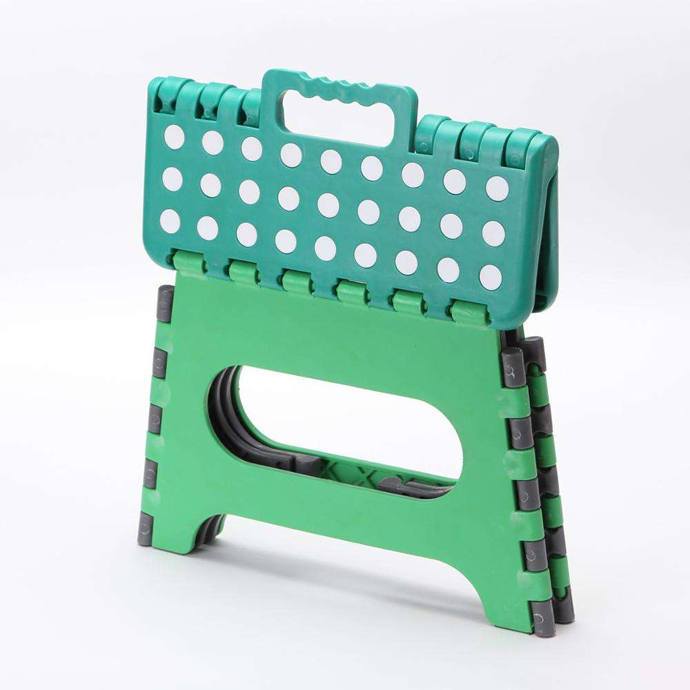colorful folding step plastic stool