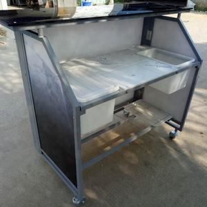 Aluminum Folding Led Portable Bar Counter with Wheels