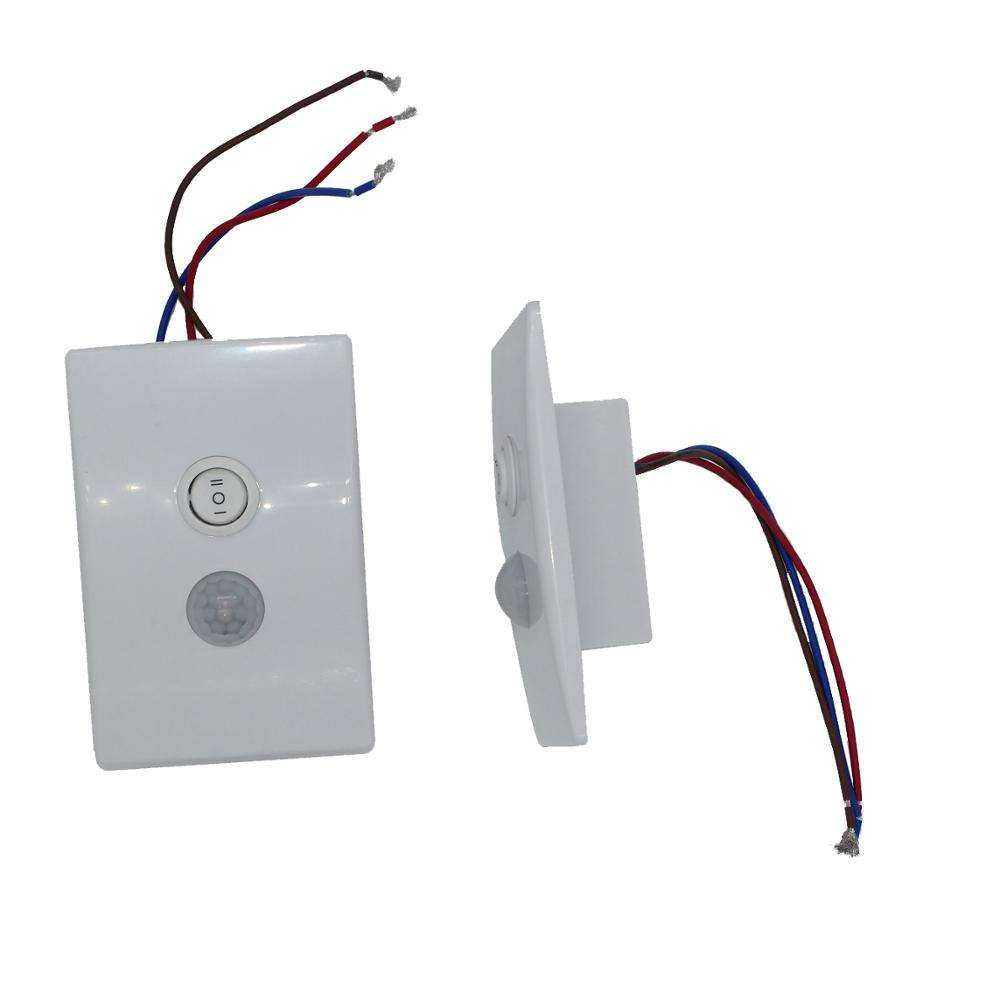 Wall switch stair light with pir motion sensor switch