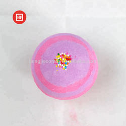 Wholesale Bulk Natural Ingredient Colorful Fizzy Bath Bombs Gift Set