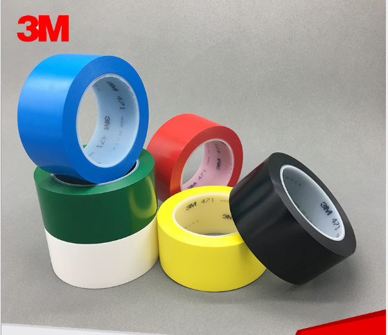 High quality colored PVC tape with Rubber adhesive electrical masking tape