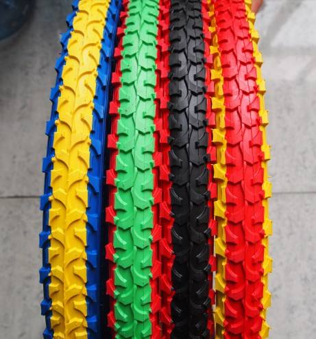 low price Hot sales 12-28inch 2.125 width 26*2.125 for sale colored bicycle tire