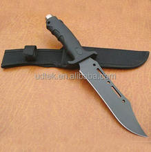 OEM 420 outdoor hunting military knife with rubber and plastic handle
